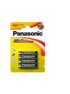 Pilas Panasonic Alkalina Lr3. Aaa De 1.5 V. Blister De 4 Pilas (Caja De 12 Blister De 4 Pilas)