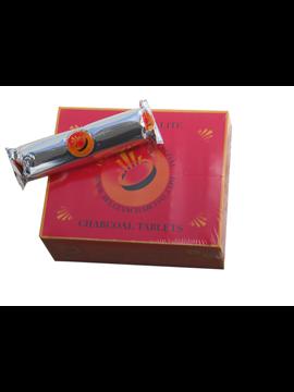 Carbones Belgian Para Shishas. Pastilla Orgánicos (Caja De 10 Paquetes De 10 Pastillas)