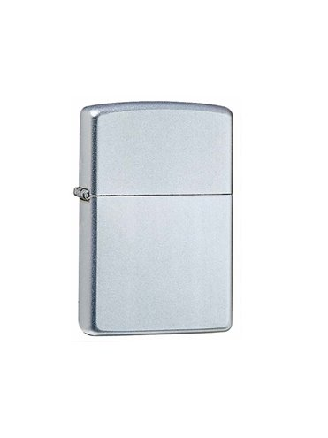 Zippos 855834 Street Chrome Finish En Mate.Precio Super Especial