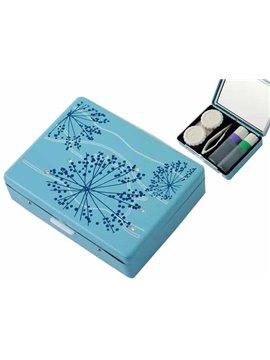 Set De Lentillas En Color Azul