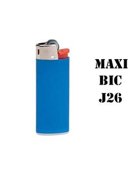 Encendedores De Piedra Bic Maxi J26 (Barqueta De 50 Unidades)