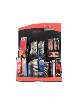 Encendedores Electronicos Champ Boutique Surtidos (Expositor De 24 Unidades)