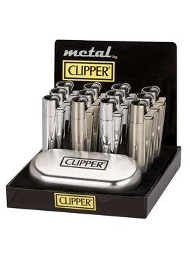 Encendedor Clipper Piedra Metalico