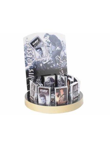 Encendedores De Piedra De Gasolina Champ Elvis Presley (Expositor De 12 Unidades)