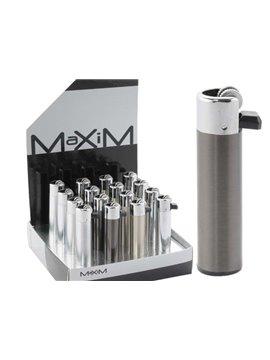 Encendedores De Piedra Maxim Metalicos (Barqueta De 16 Unidades)