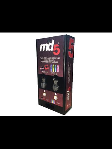 Máquina Expendedora Md5 Automática Papel Y Mechero (2 Canales)