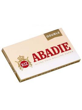 Papel De Fumar Abadie Doble (Caja De 25 Libritos De 100 Hojas)