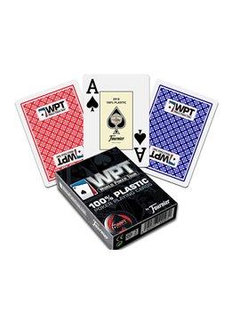 Barajas Fournier De Plastico Poker P55 Wpt (Caja De 12 Unidades)