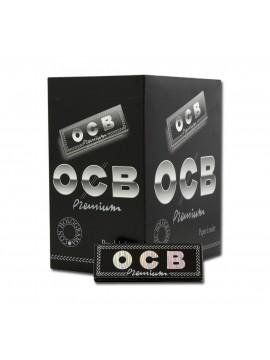 Papel De Fumar Ocb Premium 1-1/4 (Caja De 100 Libritos De 50 Hojas)
