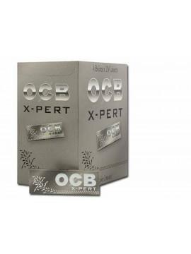 Papel De Fumar Ocb X-Pert Plata 1-1/4  (Caja De 100 Libritos)