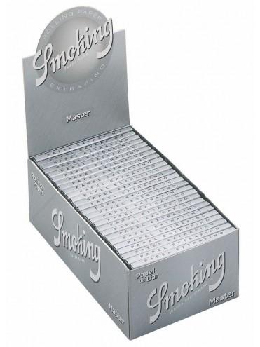 Papel De Fumar Smoking Master 1-1/4  (Caja De 50 Libritos Con 50 Hojas)
