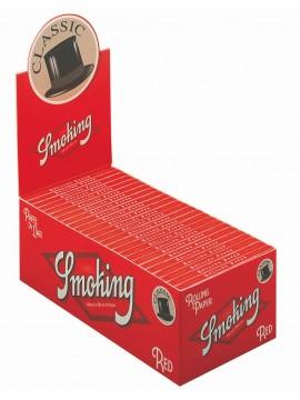 Papel De Fumar Smoking nº8 Red  (Caja De 50 Libritos De 50 Hojas)