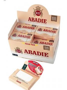 Papel De Fumar Abadie Blocs 500 ( Caja De 20 Libritos De 500 Hojas)