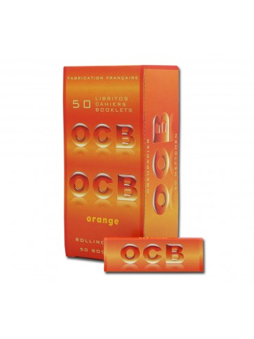 Papel De Fumar Ocb Orange Corto ( Caja De 50 Libritos )