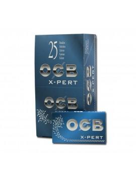 Papel De Fumar Ocb Blue Xpert Doble N?? 4 (Caja De 25 Libritos Con 100 Hojitas)