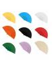 Abanicos Plastico Colores Surtidos