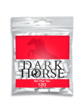 Filtros Dark Horse De 6 mm  (Caja De 34 Bolsitas De 120 Filtros)